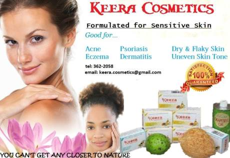 Keera Cosmetics Flyer